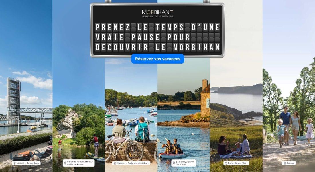 Printemps 2021 : Morbihan Tourisme lance une campagne de communication ambitieuse pour accompagner la saison touristique