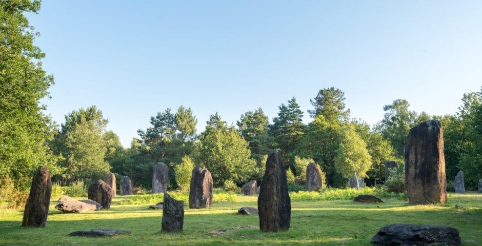Menhirs de Monteneuf © E. Berthier