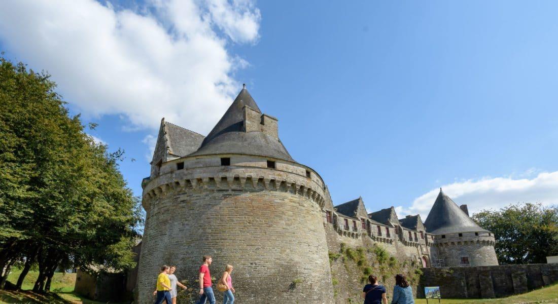 Château de Rohan, Pontivy © E. Berthier