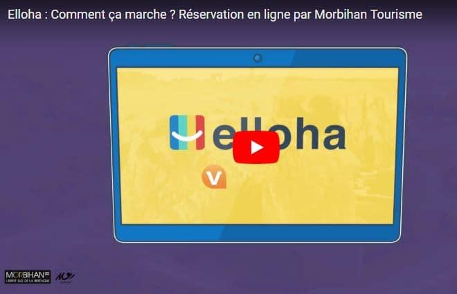 Vidéo Elloha Morbihan Tourisme - vente en ligne