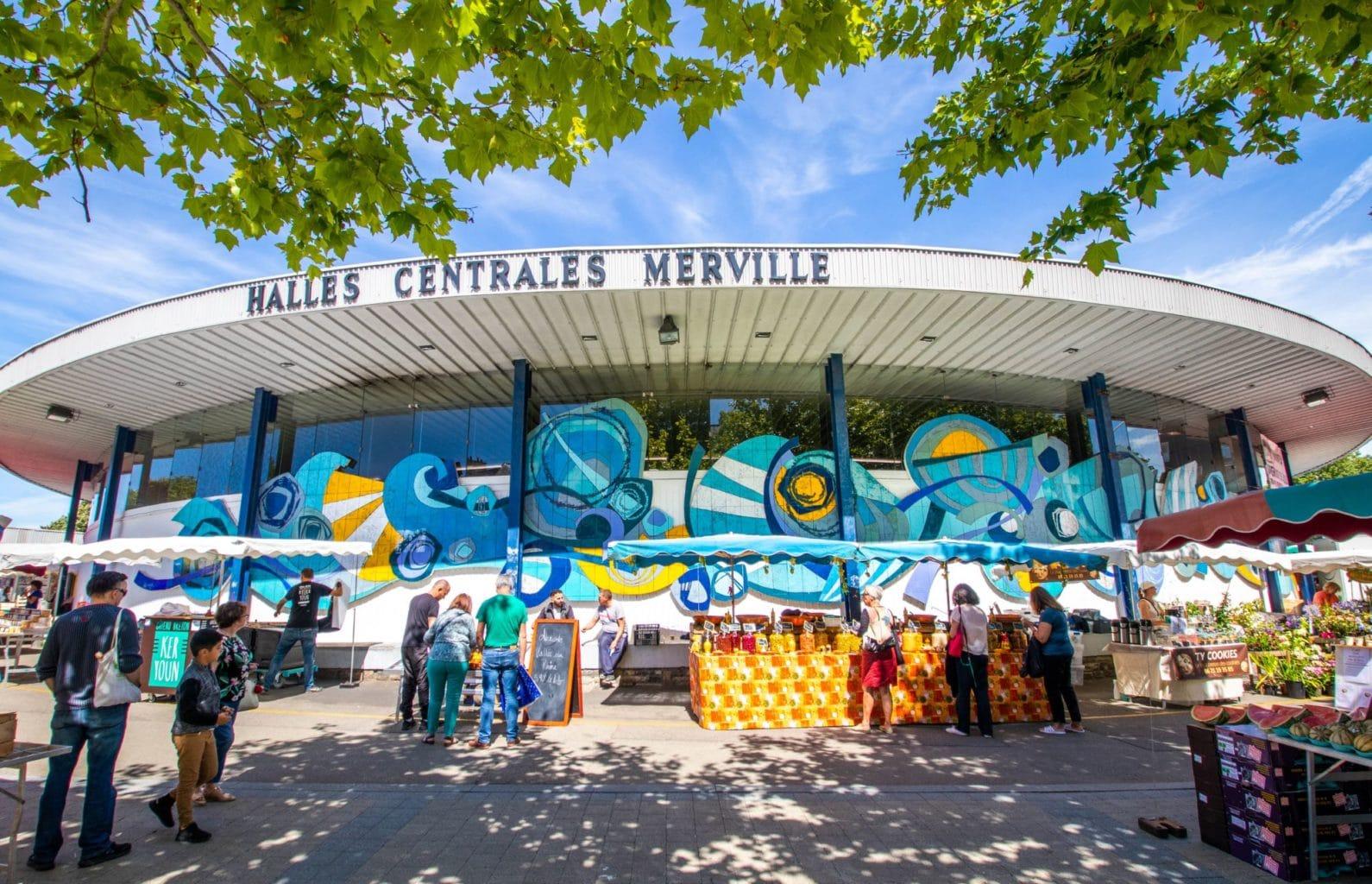 Halles Merville © L. Kersuzan