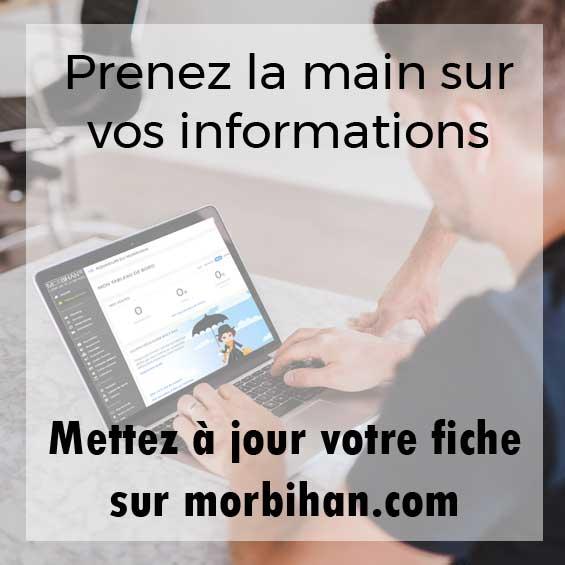 mettez à jour vos informations sur morbihan.com