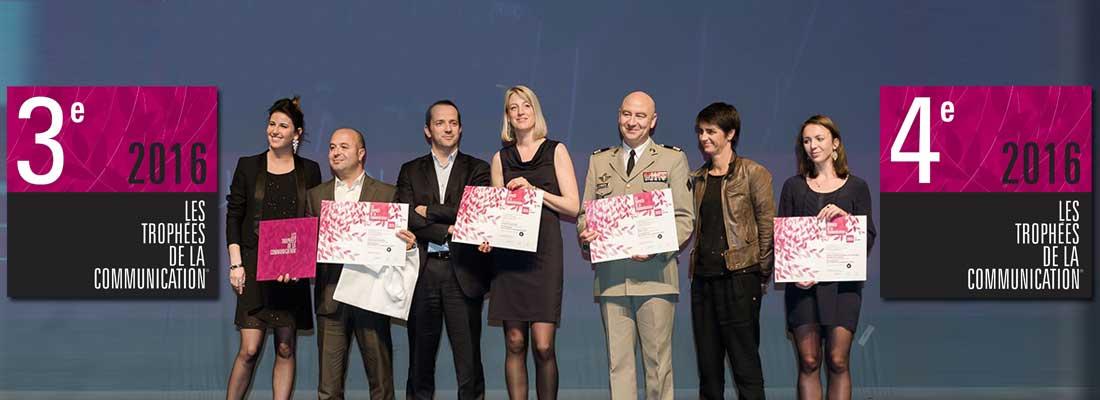 Le Morbihan de nouveau récompensé aux Trophées de la Communication® 2016