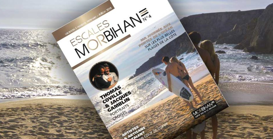 Magazine Escales Morbihan N°4 - 2018