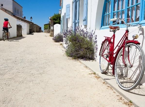 Vélo rouge © Ouibike