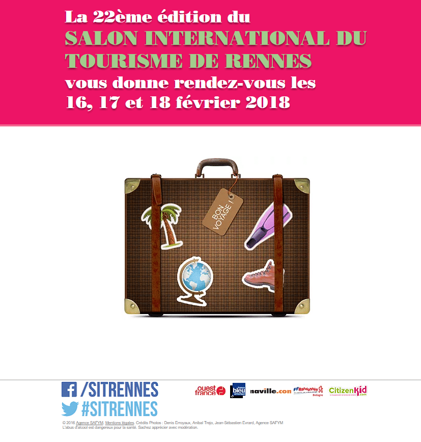 Salon du tourisme de rennes for Salon international du tourisme rennes