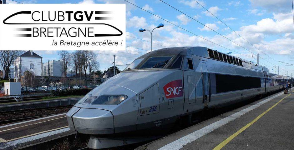 TGV sur la gare de Vannes