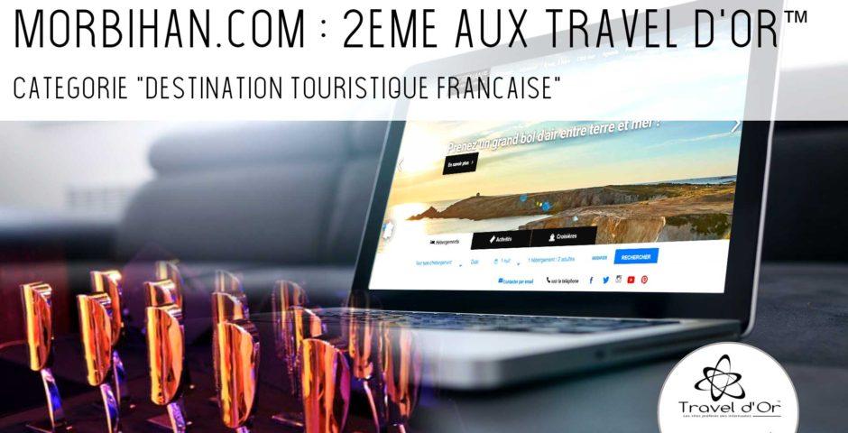 Le Morbihan 2ème destination touristique française aux Travel d'Or