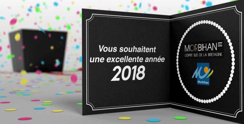 morbihan tourisme vous souhaite une bonne année 2018